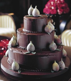 choclate wedding cake