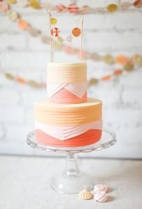orange wedding cake2