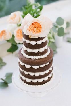 choclate naked cake
