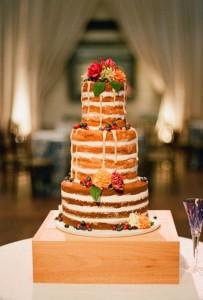 naked fall cake