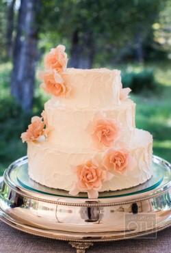 pink wedding cake2