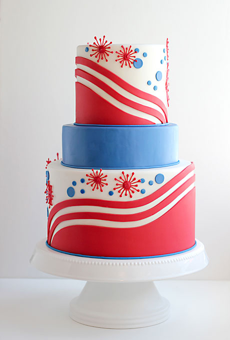 wedding cakes red white and blue lorraine photography patriotic wedding cake 25360