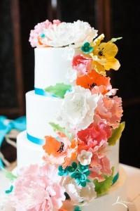 colorful spring cake