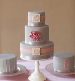 gray cake