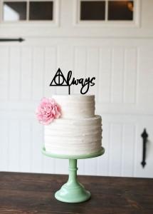 hp cake topper