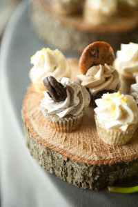 cupcake with cookies